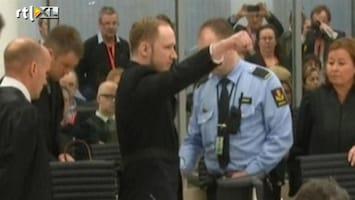 RTL Nieuws Breivik brengt extreemrechts saluut