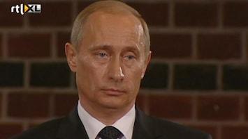 RTL Nieuws Poetin kan veel kritiek verwachten in Nederland