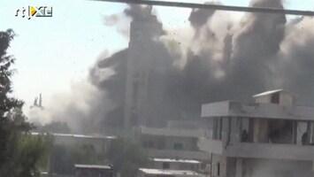 RTL Nieuws Zware gevechten in Homs en Aleppo