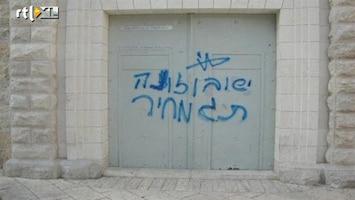 RTL Nieuws Opnieuw klooster Israël doelwit vandalen