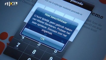 RTL Nieuws Problemen ING-website houden aan