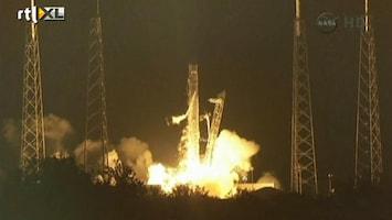 RTL Nieuws Succesvolle lancering SpaceX