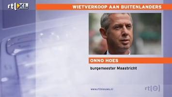 RTL Nieuws Burgemeester Hoes: actie coffeeshops provocerend