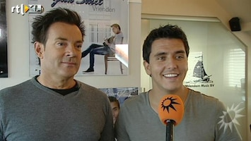 RTL Boulevard Gerard Joling tekent bij platenlabel Jan Smit