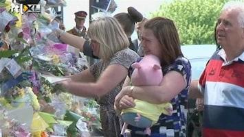 RTL Nieuws Familie doodgestoken militair bezoekt plaats delict