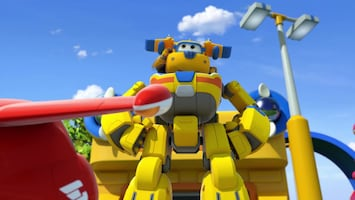 Super Wings Dinosaurus op hol