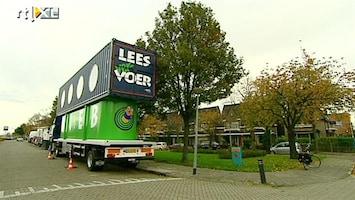 RTL Transportwereld Opvallende Bieb-bus in Zaanstreek
