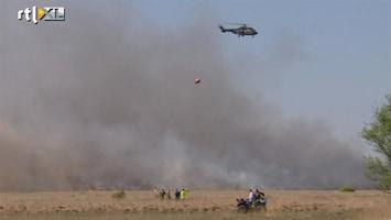 RTL Nieuws Paasweekend vol natuurbranden