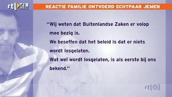 RTL Nieuws Familie echtpaar Jemen: Waardering voor media