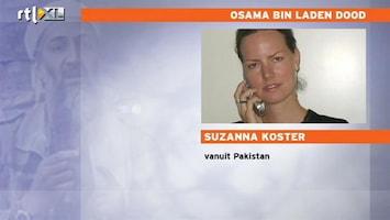 RTL Nieuws Suzanna Koster over dood Osama