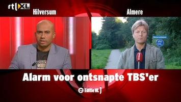 Editie NL Alarm voor ontsnapte TBS-er