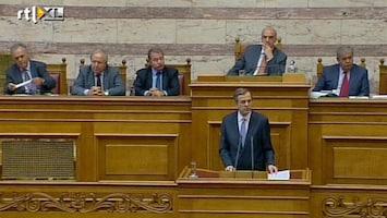RTL Nieuws Samaras wil Griekse economie niet kapotbezuinigen