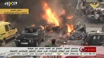 RTL Nieuws Eerste beelden chaos en paniek aanslag Beirut