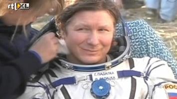 RTL Nieuws Veilige landing kosmonauten