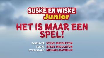 Suske En Wiske Junior Het is maar een spel!