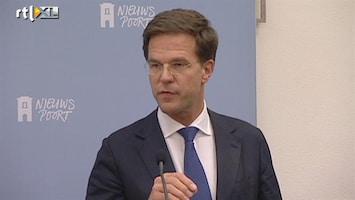 RTL Nieuws Excuses Rutte voor plannen zorgpremie