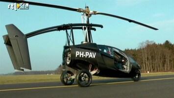 RTL Nieuws Vliegende auto maakt eerste vlucht