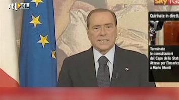 RTL Nieuws Afgetreden Berlusconi spreekt Italianen toe