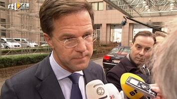 RTL Nieuws Rutte: weg naar Europees akkoord nog fragiel