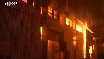 RTL Nieuws Zeker 289 doden bij brand in kledingfabriek