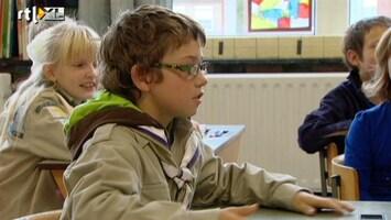 RTL Nieuws Belgische kinderen in scoutsuniform naar school