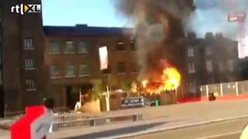 RTL Nieuws Brand en explosies in Nieuw-Zeelands Kiwi House Londen