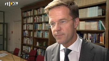 RTL Nieuws Rutte ontkent flirt met oppositiepartij D66