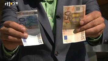 RTL Nieuws Let op vals geld!