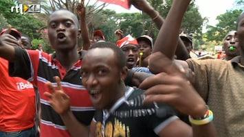 RTL Nieuws Kenia heeft een nieuwe president: Uhuru Kenyatta
