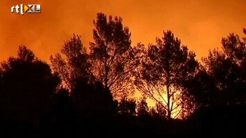 RTL Nieuws Brandweer Spanje vecht tegen bosbranden
