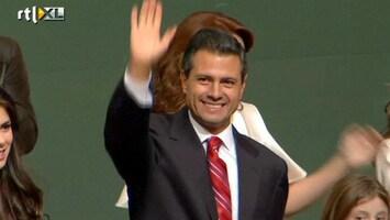 RTL Nieuws Enrique Nieto nieuwe president Mexico