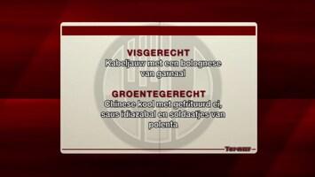 """Topchef Tegen Sterrenchef """"aflevering 1"""" - Afl. 33"""