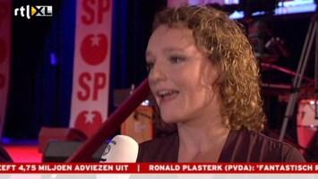 RTL Nieuws SP: Niet teleurgesteld, maar trots