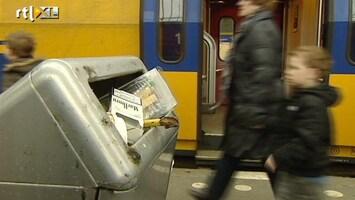 RTL Nieuws Schoonmakers in actie voor betere cao