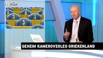 RTL Z Nieuws De Jager en Wellink praten Kamer bij over Griekenland
