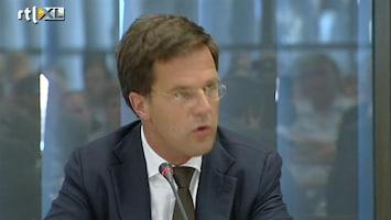 RTL Nieuws Rutte moet opnieuw excuses aanbieden