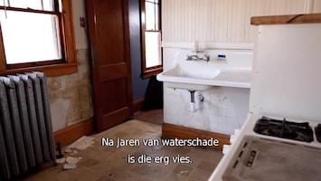 Verslaafd Aan Verbouwen Water damaged kitchen