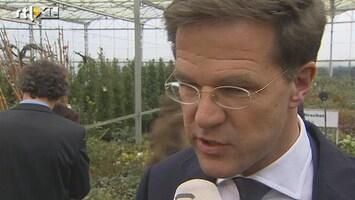 RTL Nieuws Rutte: PVV-meldpunt geen zaak regering