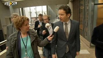 RTL Nieuws Dijsselbloem maakt ronde langs fracties