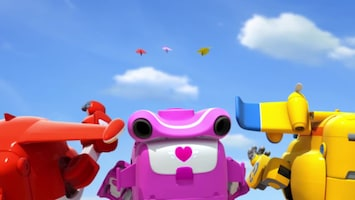 Super Wings Ridders van papier