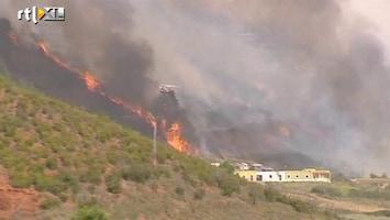 RTL Nieuws Bosbranden teisteren Tenerife en La Gomera