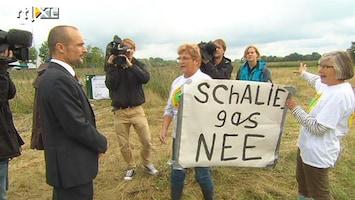 RTL Nieuws PvdA op bezoek in Boxtel om schaliegas