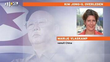 RTL Nieuws 'Angst voor chaos na overlijden Kim Jong-Il'