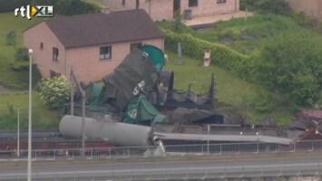 RTL Nieuws België ontsnapt net aan enorme treinramp