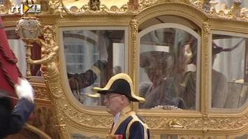 RTL Nieuws Gouden Koets vertrekt vanaf paleis