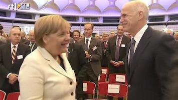 RTL Nieuws Merkel: 'We geven Grieken alle hulp'