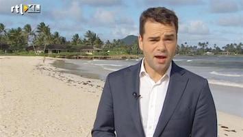 RTL Nieuws Obama lekker op vakantie