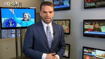 RTL Nieuws 'Clinton nog niet definitief van politiek toneel'