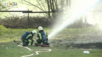 RTL Nieuws Man vermist na grote brand in Elsloo