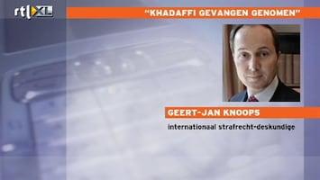 RTL Nieuws 'Khadaffi zou naar Den Haag moeten'
